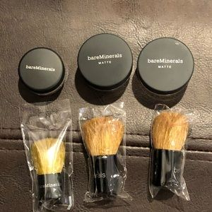 bareMinerals Makeup - Bare minerals Mini makeup with mini kabuki brush